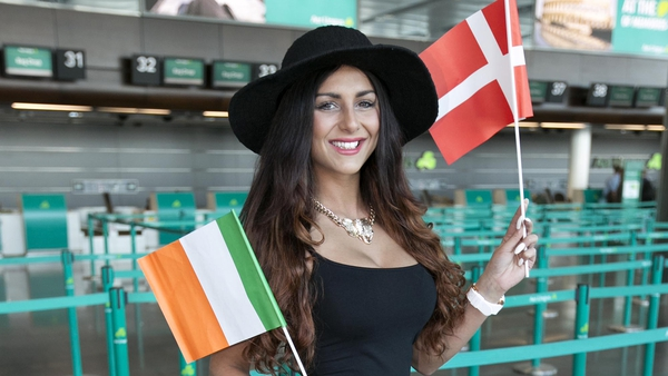 Kasey Smith flies off to Copenhagen for the Eurovision Song Contest 2014