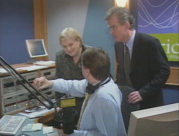 Síle de Valera, Michael Comyn, Lyric FM Studios, 1 May 1999