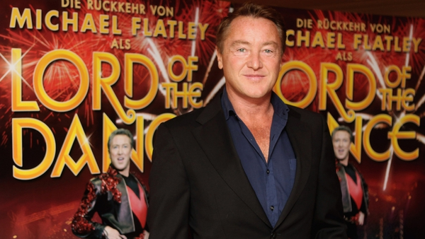 Flatley filming special show for ITV