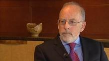Central Bank Governor Patrick Honohan speaks to RTÉ Economics Correspondent Sean Whelan