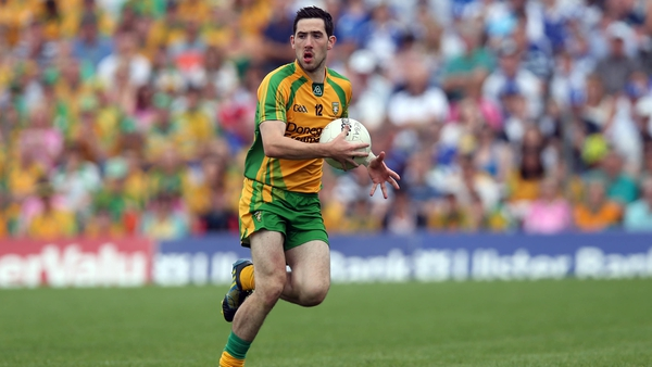 Mark McHugh won an All Star during Donegal's All-Ireland-winning 2012 campaign