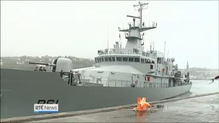 Naval Service's newest ship arrives in Cork