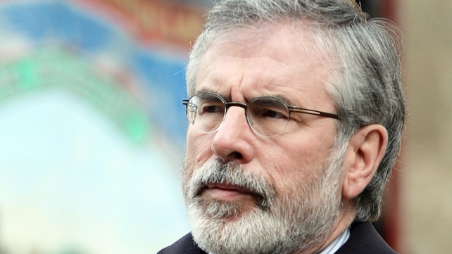 Gerry Adams denies any involvement in the murder of Jean McConville