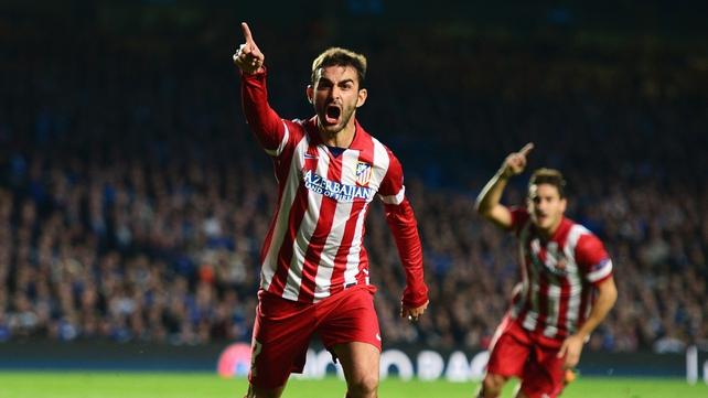 Atletico Madrid scored three away goals at The Bridge