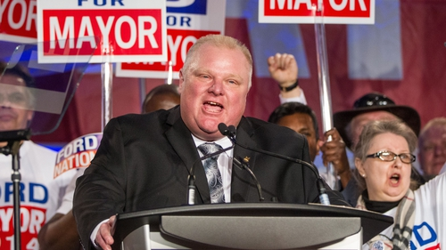 Rob Ford has been campaigning for re-election as Toronto mayor