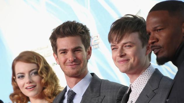 The Amazing Spider-Man 2 stars Emma Stone, Andrew Garfield, Dane DeHaan and Jamie Foxx