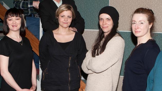 Bronagh Gallagher, Tara Lynne O'Neill, Caoilfhionn Dunne and Caitríona Ní Mhurchú