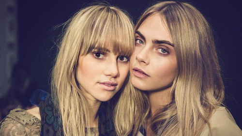 Burberry favourites Suki Waterhouse and Cara Delevingne
