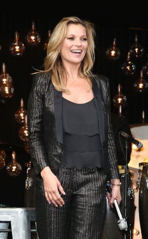 Kate Moss launched her latest collection for Topshop