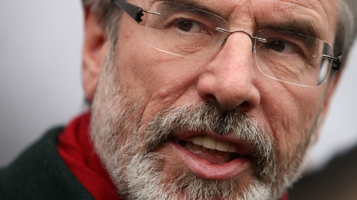Gerry Adams said the newspapers had published totally false allegations
