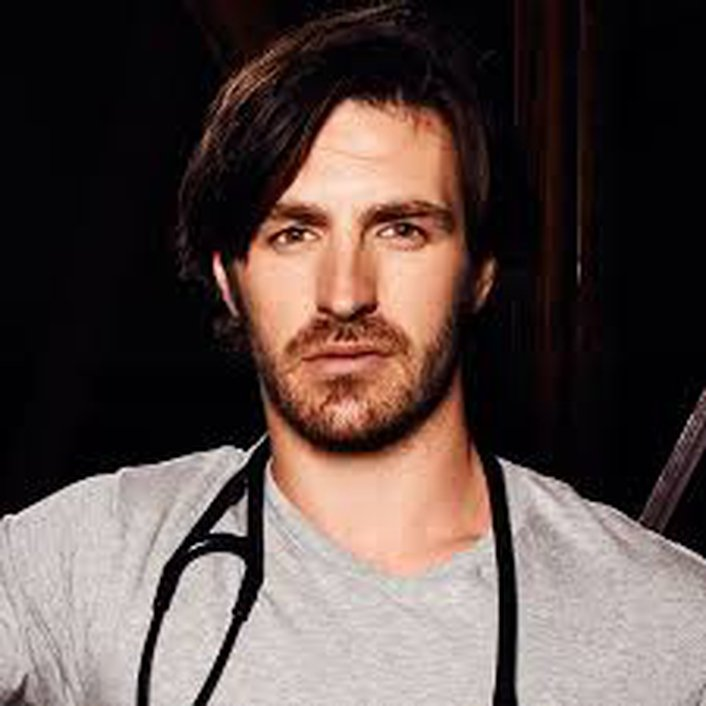 Irish actor Eoin Macken in LA