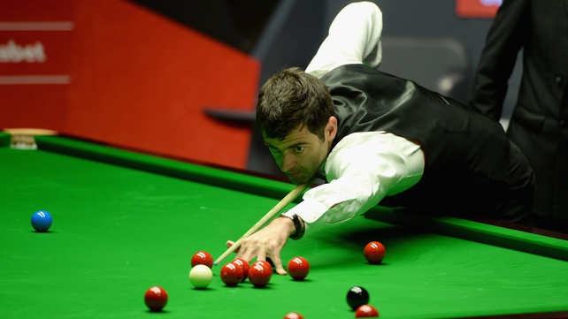 Ronnie O'Sullivan already holds a commanding lead over Barry Hawkins