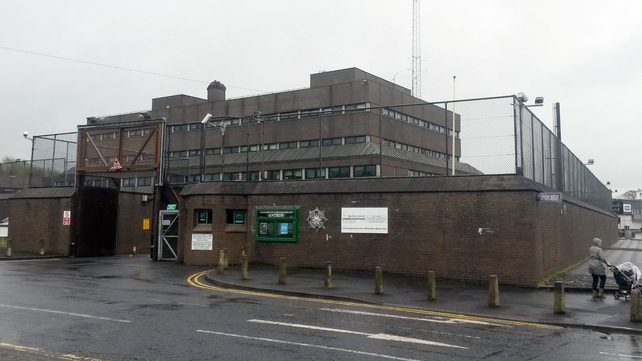 Gerry Adams can be questioned at Antrim Police Station until 8pm