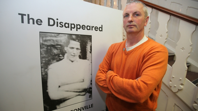 Michael McConville said he was too scared to name those who abducted his mother