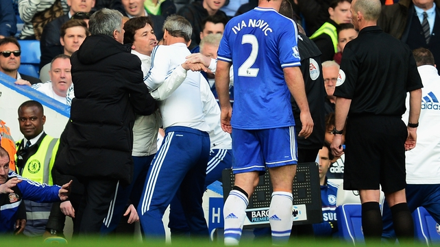 Rui Faria has been handed a six-match ban