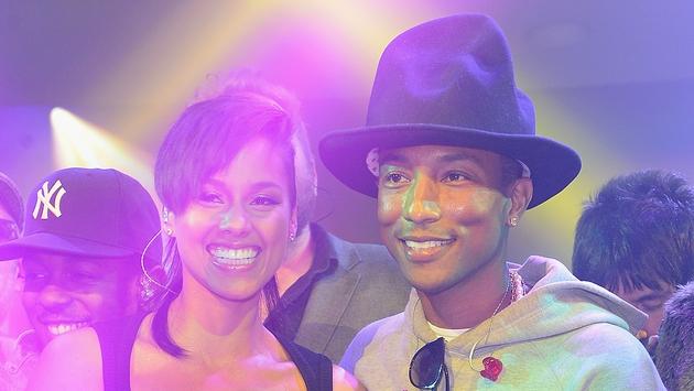 Keys will mentor Pharrell Williams's team on The Voice US