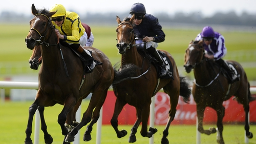 Rizeena (left) will go in the 1000 Guineas at Newmarket
