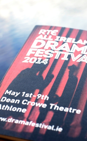 All Ireland Drama Festival runs from the 1st to the 9th of May