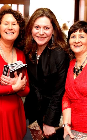 Rachel Sarah Murphy with All Ireland Drama Festival attendees