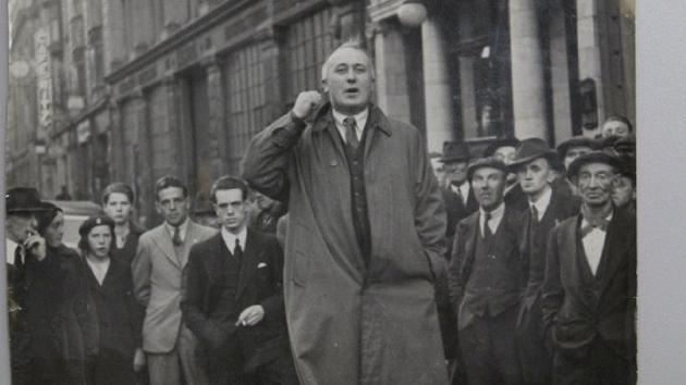 Seán Murry speaking in Dublin