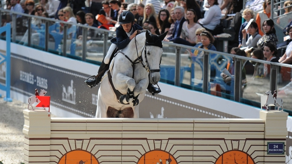 Bertram Allen riding Molly Malone V to a clear round in Belgium