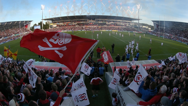 Toulon, Leicester and Scarlets will visit Kingspan Stadium next season to play Ulster in the pool stage of the European Rugby Champions Cup