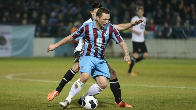 Gary O'Neill had give Drogheda United the lead