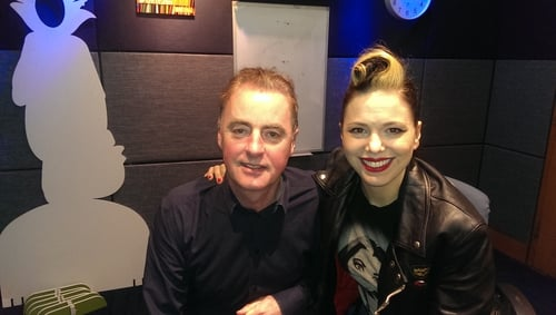 Imelda May with Dave Fanning