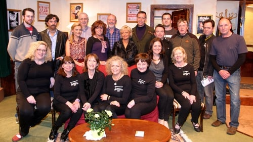 Cast and crew from the Ballyshannon Drama Society