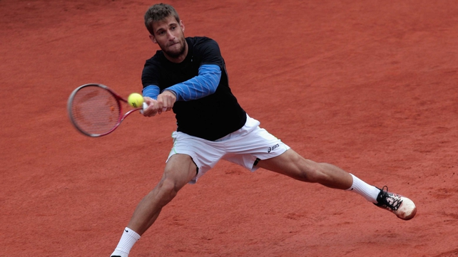 Martin Klizan is ranked 111th in the world