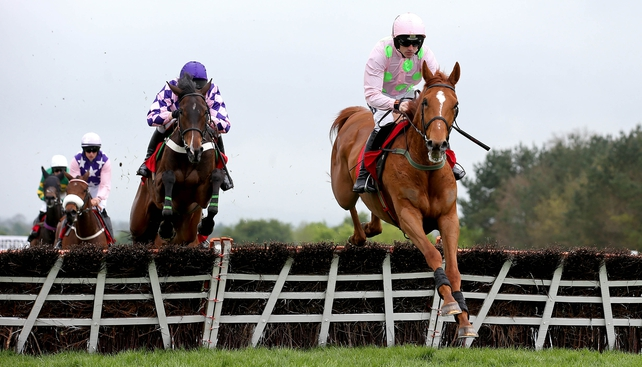 Annie Power with Ruby Walsh on board en route to winning at Punchestown