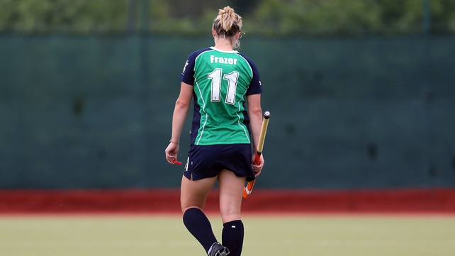 Megan Frazer was on the scoresheet for Ireland