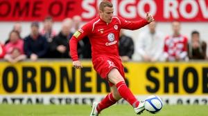 Danny North was on the scoresheet for Sligo