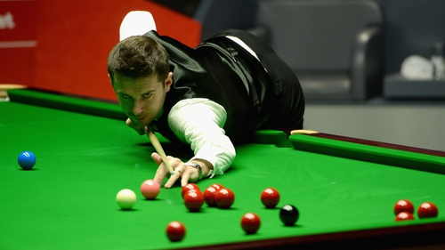 Mark Selby dominated the session this afternoon