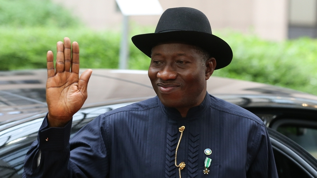 President Goodluck Jonathan brought together all key players involved in the search
