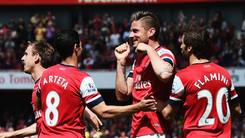 The Gunners will need to overcome Besiktas to qualify for the Champions League proper