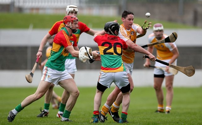 Antrim got the better of a battling Carlow at Dr Cullen Park