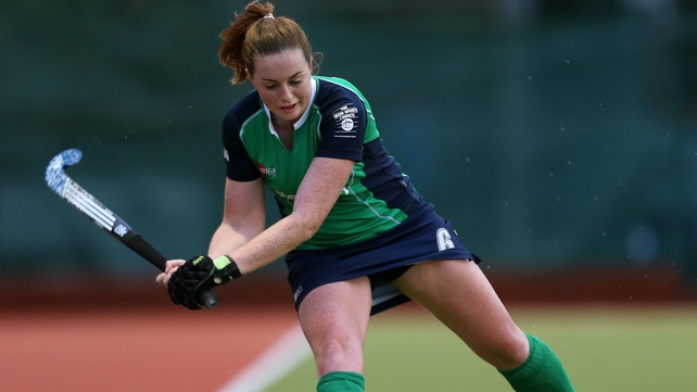 Emma Smyth put Ireland in front against USA