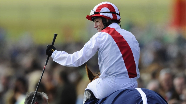 Kieren Fallon rode to victory with Night of Thunder