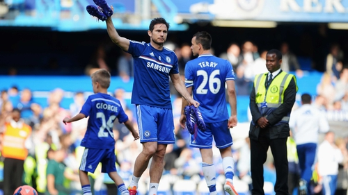Frank Lampard scored 209 goals in all competitions for Chelsea
