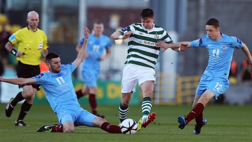 Drogheda United host holders Shamrock Rovers at United Park