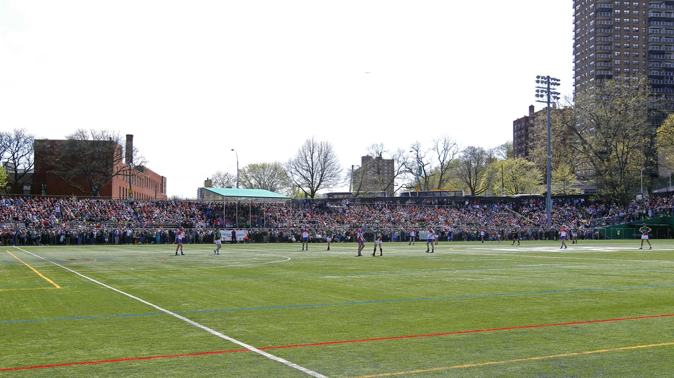 New York hosted Mayo in the Bronx in the Connacht Senior Football Championship