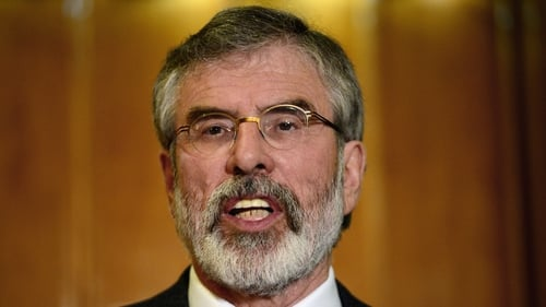 Gerry Adams was arrested last week by police investigating the abduction and murder of Jean McConville