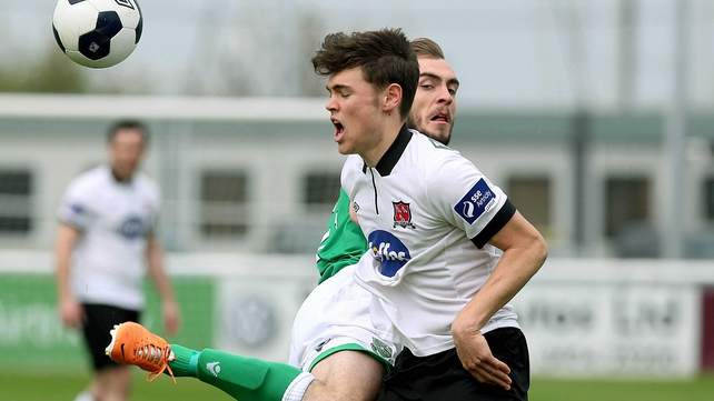Conor McDonald was on target for Dundalk