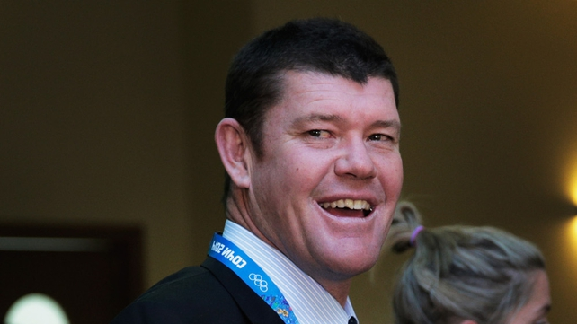 James Packer was reportedly angry over a Nine Network news van parked outside his home