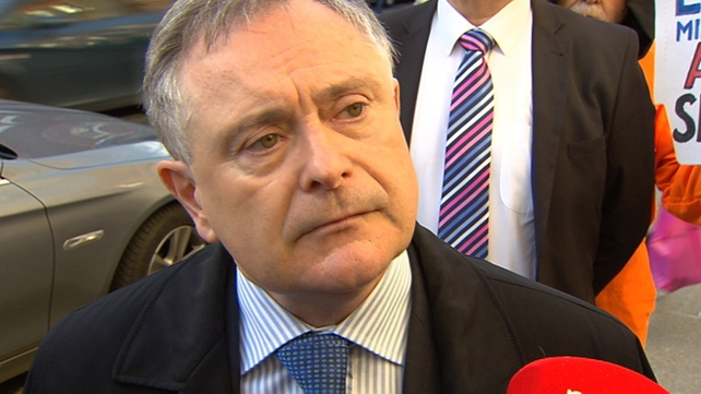 Brendan Howlin said it is 'a little bit rich' to hear commentary that the Govt is being undemocratic