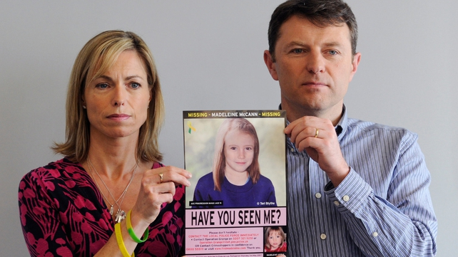 Kate and Gerry McCann marked the 7th anniversary of their daughter's disappearance in Rothley, Leicestershire