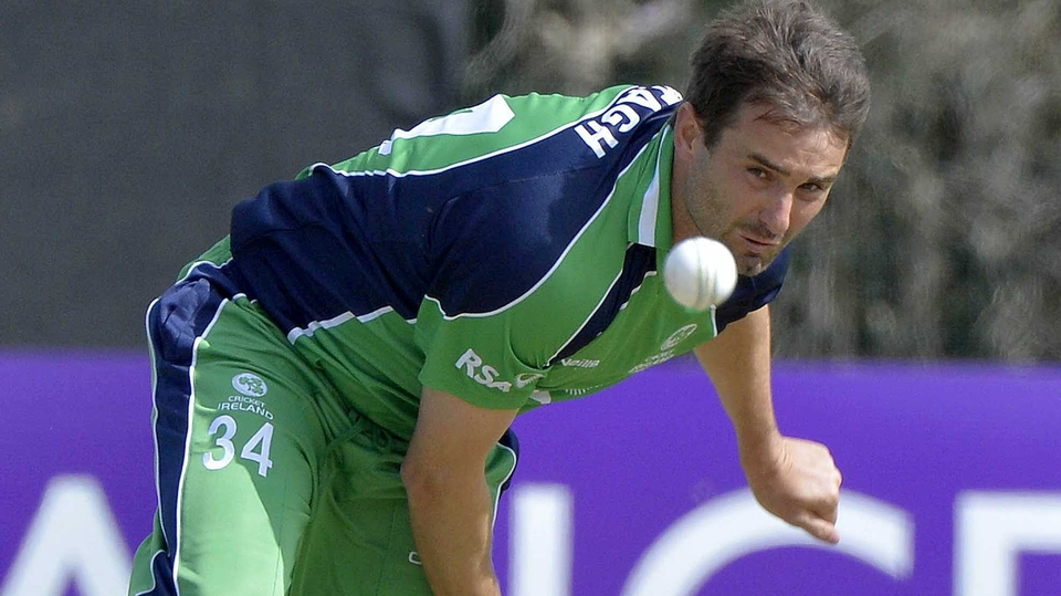 Tim Murtagh took two wickets from his ten overs