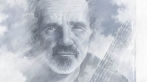 JJ Cale as featured on the cover of Eric Clapton and Friends: The Breeze, An Appreciation of JJ Cale