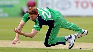 Kevin O'Brien will lead Ireland in Malahide